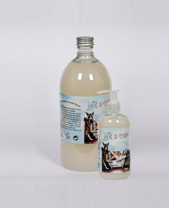Sapone liquido Latte d'Asina e olio Argan