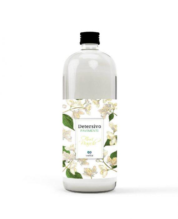 detersivo pavimenti profumatissimo fiori bianchi